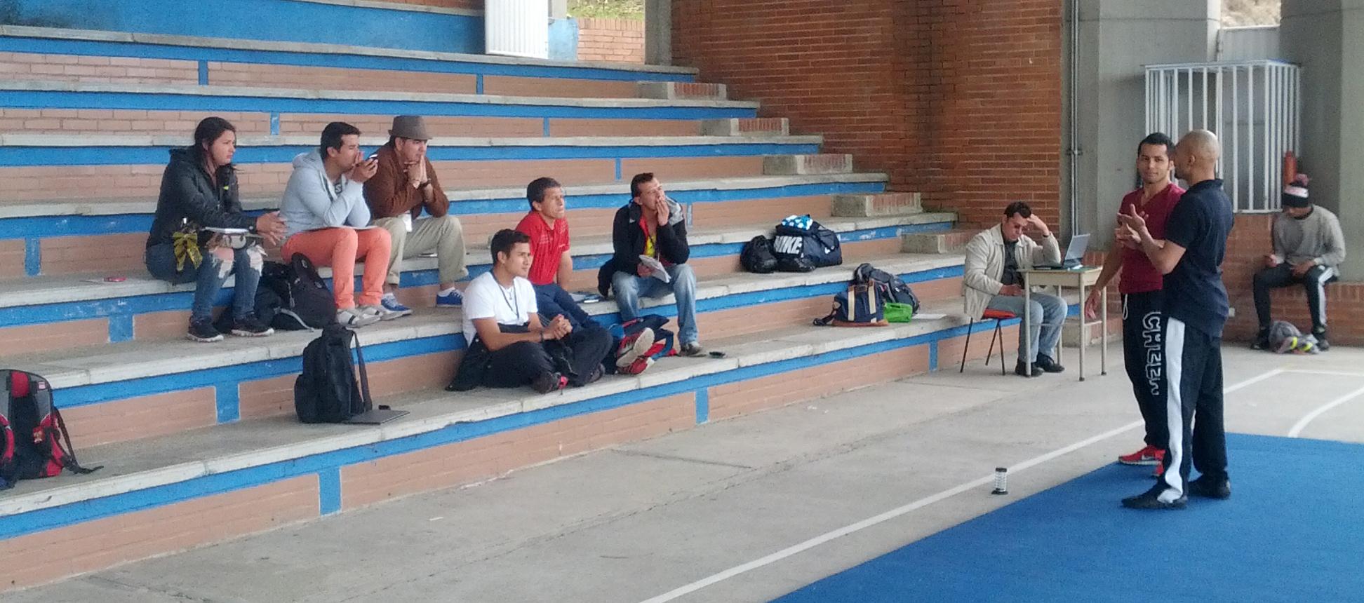 Tumbling Coach Training