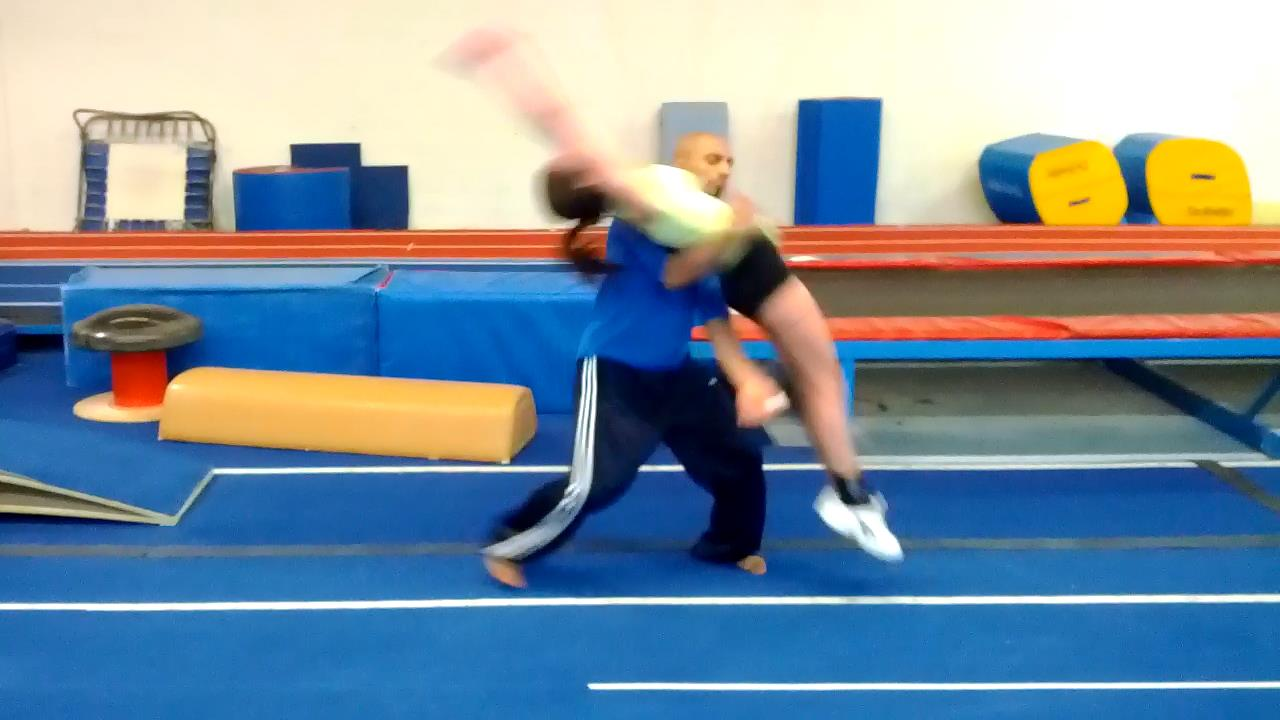 Tumbling Private Lessons Coach Sahil