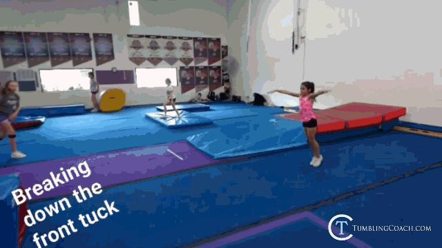 da37b1d2711a How To Do A Front Tuck (Front Flip) Complete Guide W  17 Drills